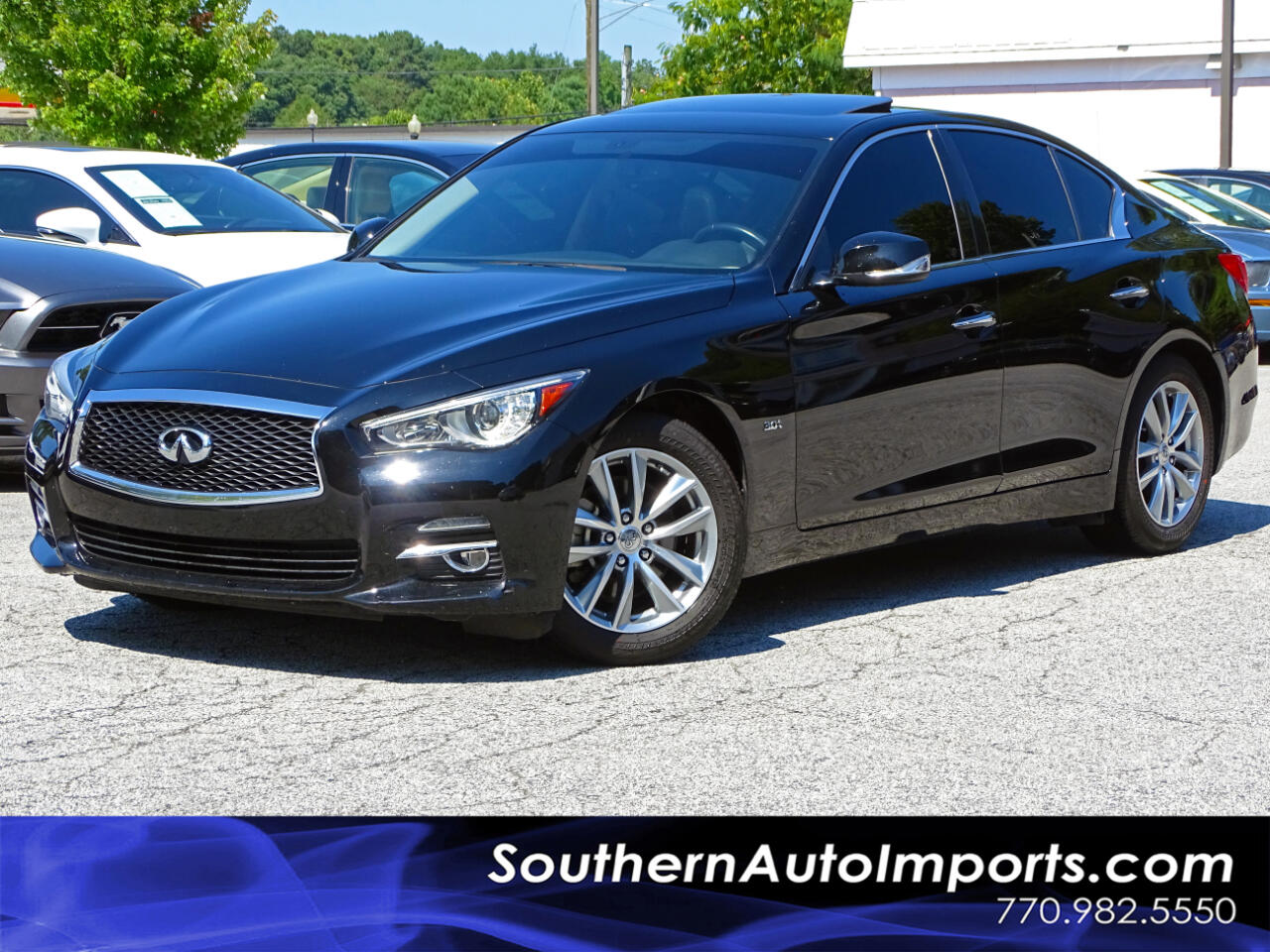 2017 Infiniti Q50 3.0t w/Back Up Camera Sunroof