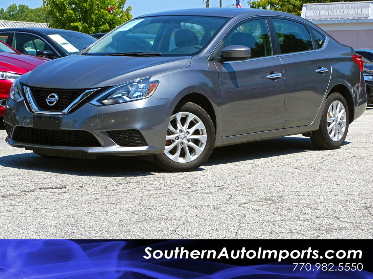 2017 Nissan Sentra SV w/BACK UP CAMERA 1-OWNER