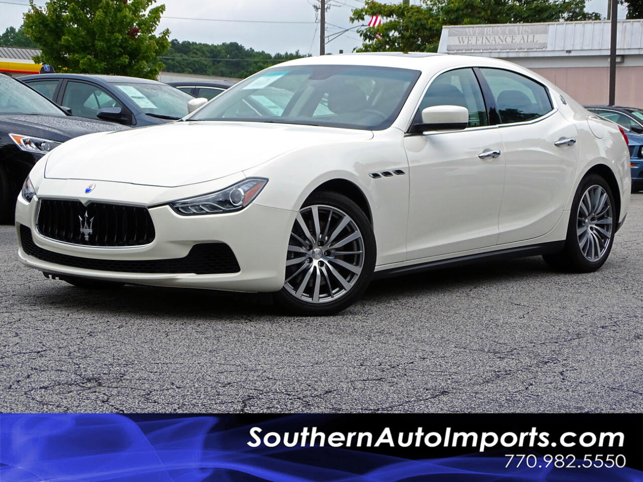 2016 Maserati Ghibli S w/BACK UP CAM NAVI BLUETOOTH