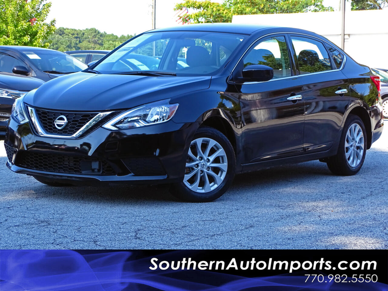 2018 Nissan Sentra SV w/BACK UP CAMERA BLUETOOTH