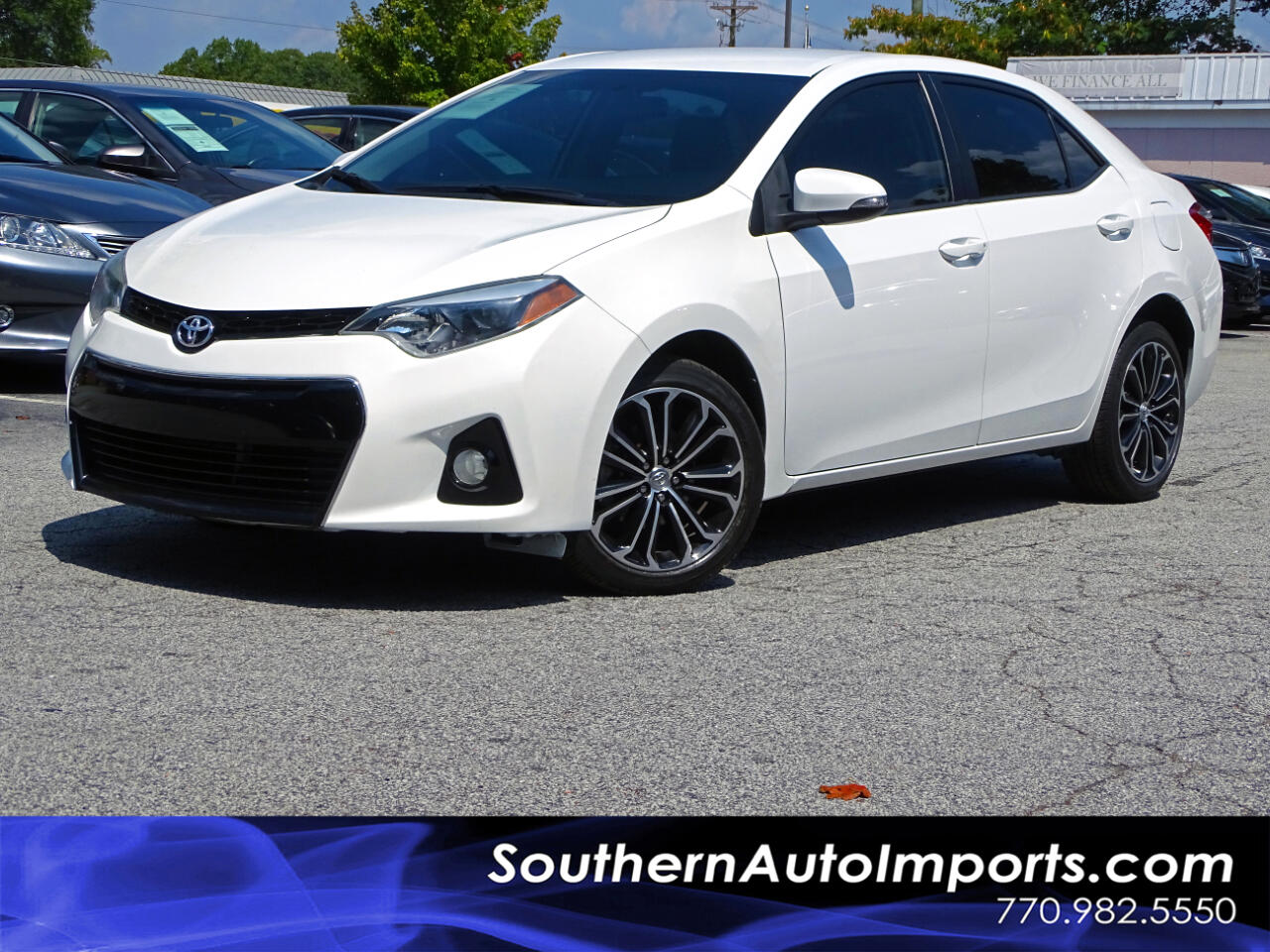 2014 Toyota Corolla S PLUS w/BACK UP CAMERA BLUETOOTH CONNECT