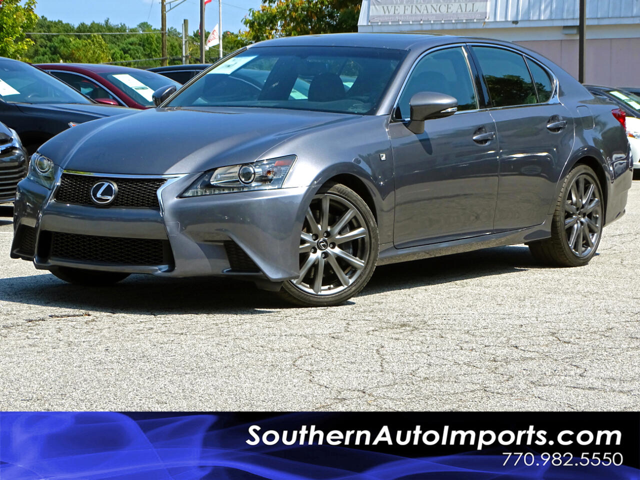 2015 Lexus GS 350 F-SPORT PKG BACK UP CAM NAVIGATION