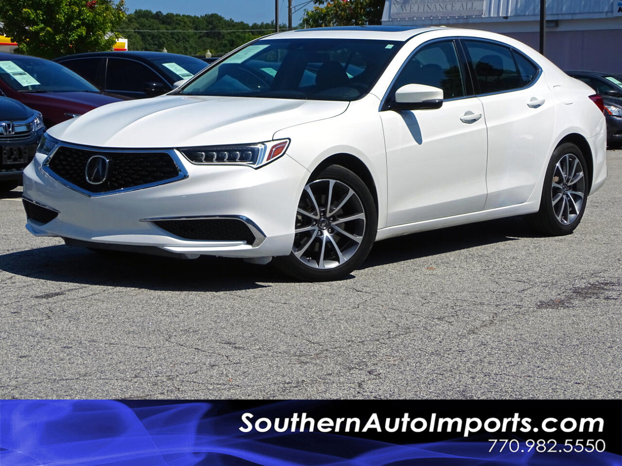 2018 Acura TLX BACK UP CAMERA. NAVIGATION 1-OWNER