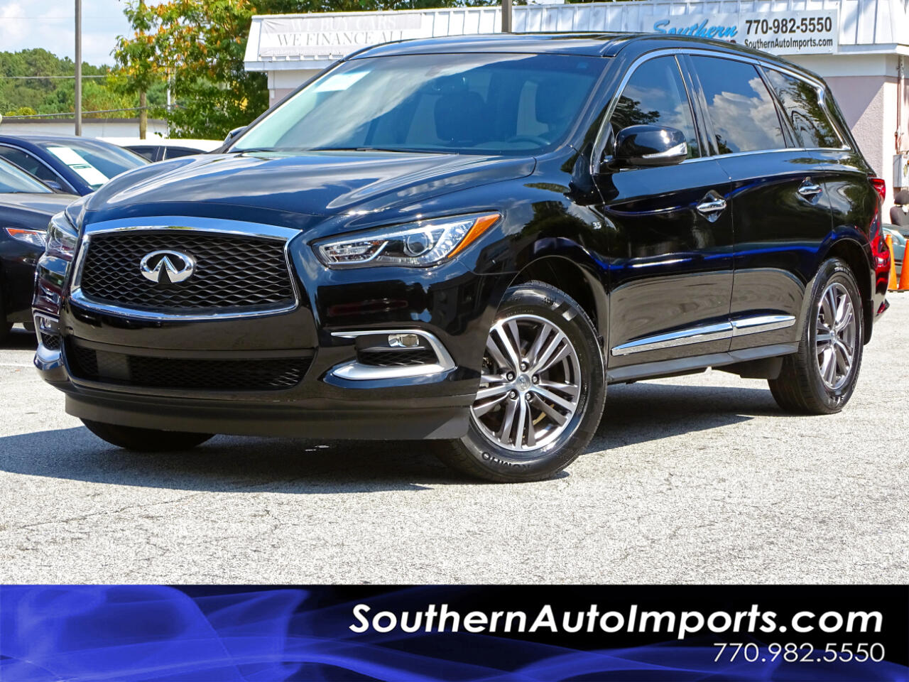 2016 Infiniti QX60 1-OWNER BACK UP CAMERA 3RD ROW SEATS