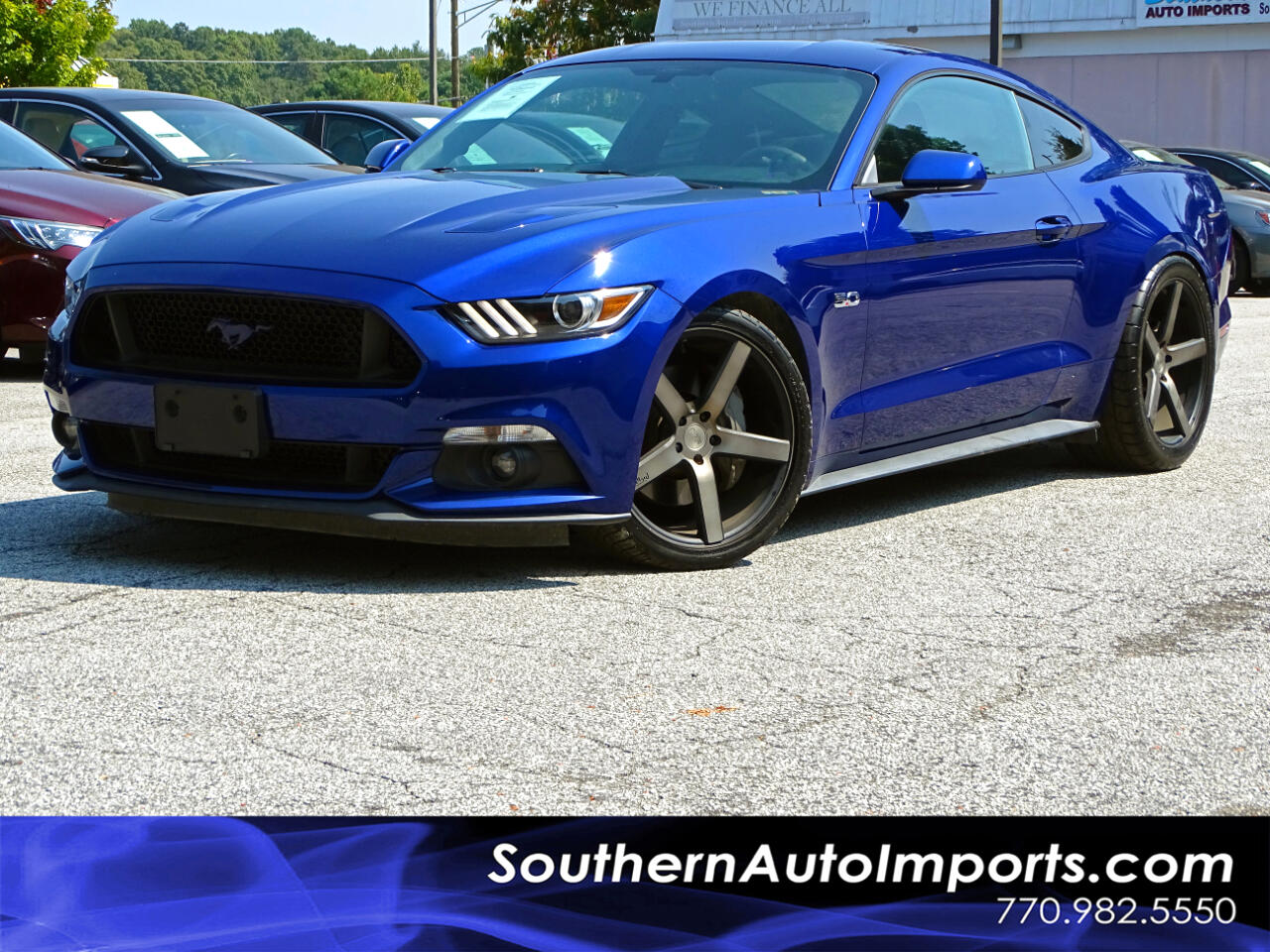 2015 Ford Mustang FASTABACK GT w/BACK UP CAMERA 1-OWNER