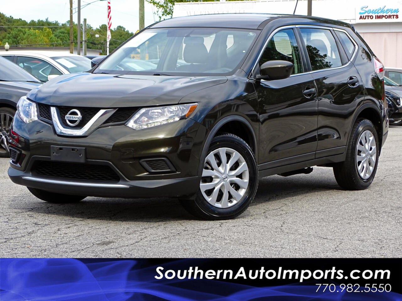 2016 Nissan Rogue AWD S w/BACK UP CAMERA SATELLITE RADIO