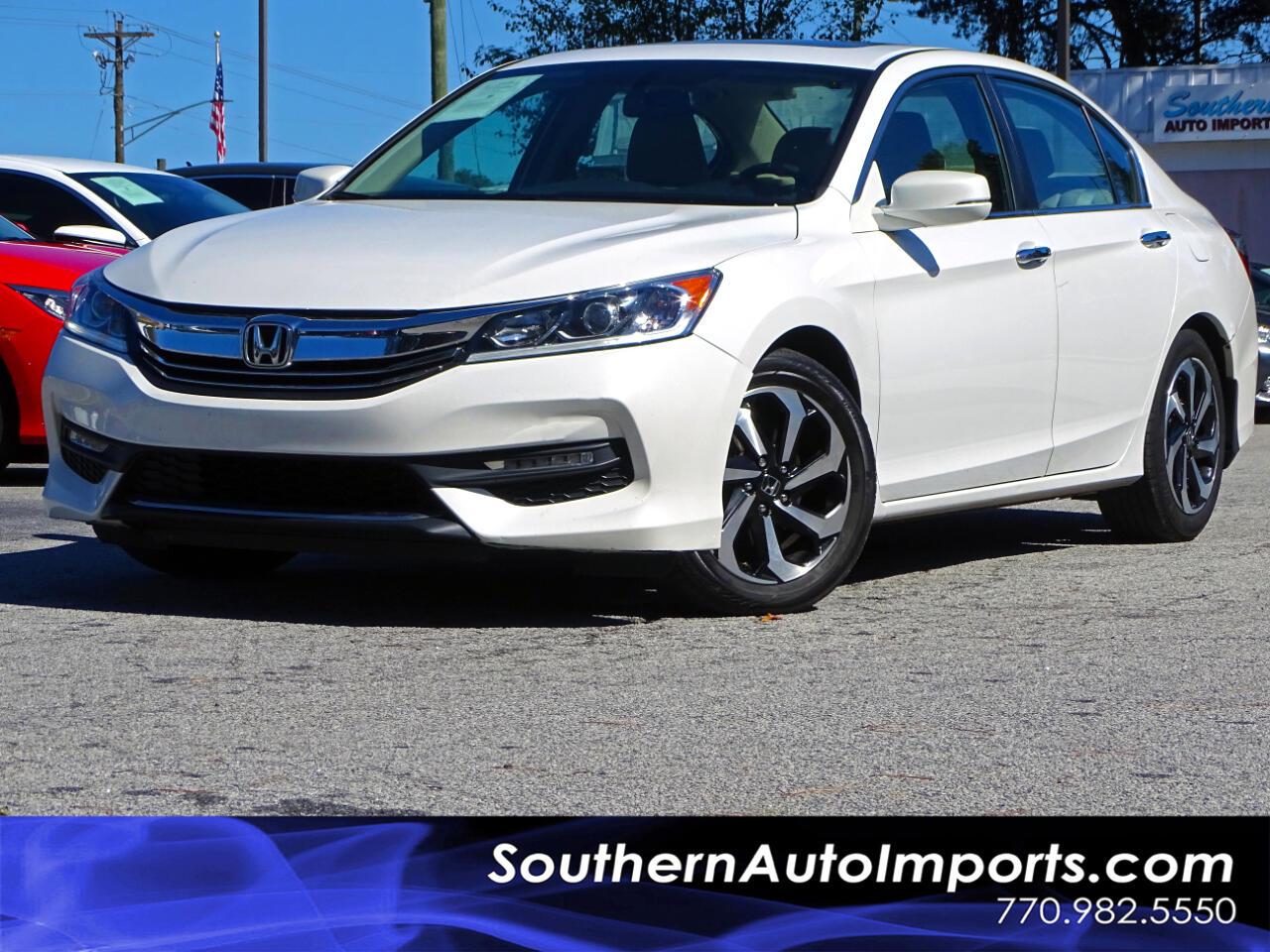2016 Honda Accord Sedan EX-L w/BACK UP CAM HEATED SEAT BLUETOOTH