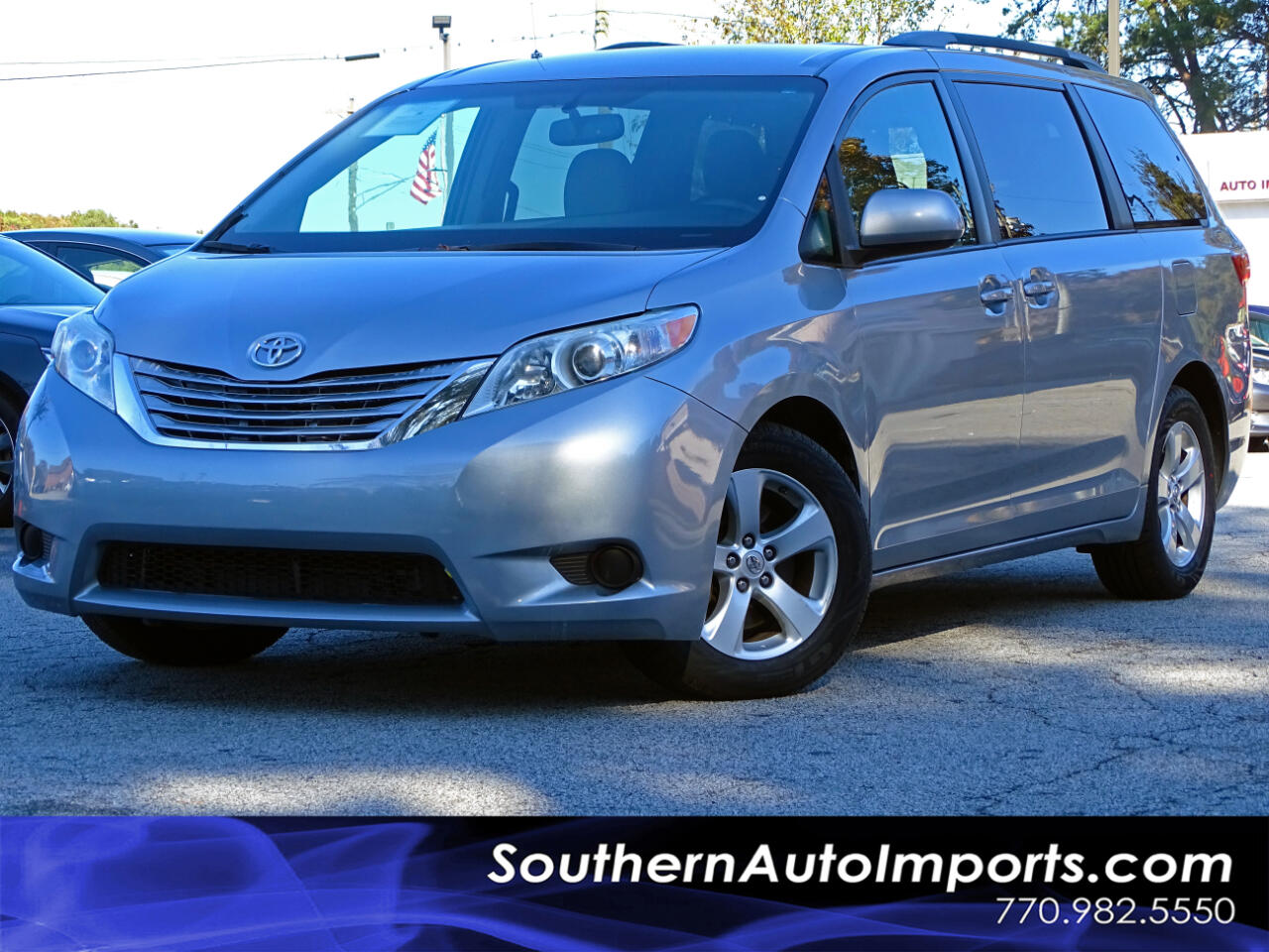 2016 Toyota Sienna 5dr 8-Pass Van LE FWD (Natl)
