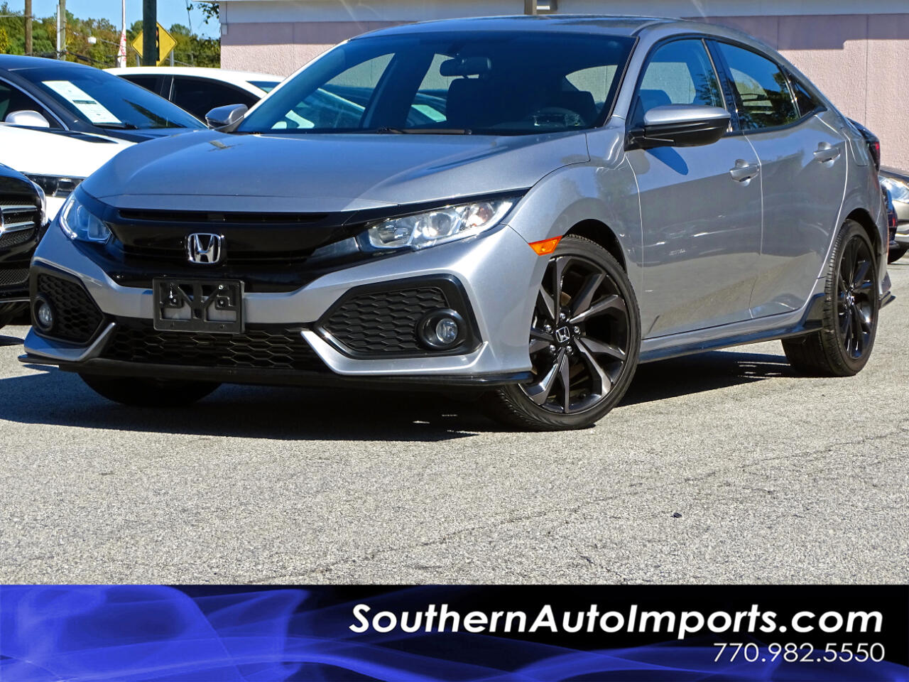 2018 Honda Civic Hatchback SPORT w/BACK UP CAMERA 1-OWNER
