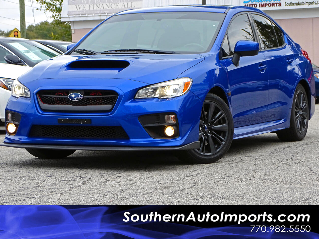 2015 Subaru WRX AWD TURBO BACK UP CAMERA