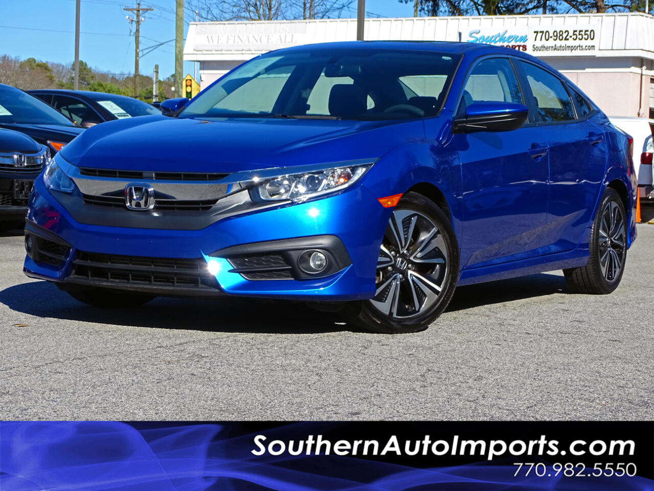 Honda Civic Sedan EX-T CVT 2017