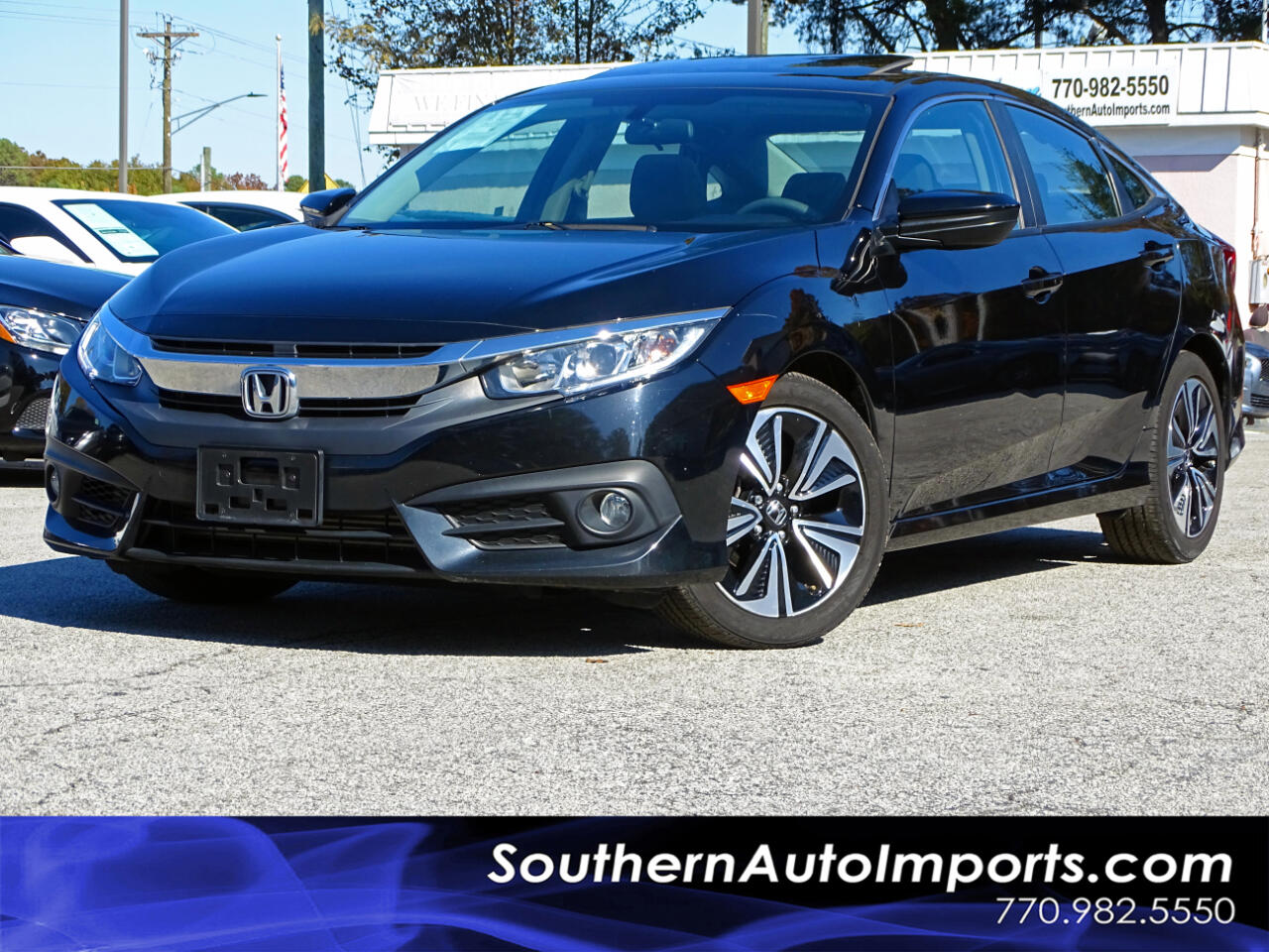 Honda Civic Sedan 4dr CVT EX-T 2016