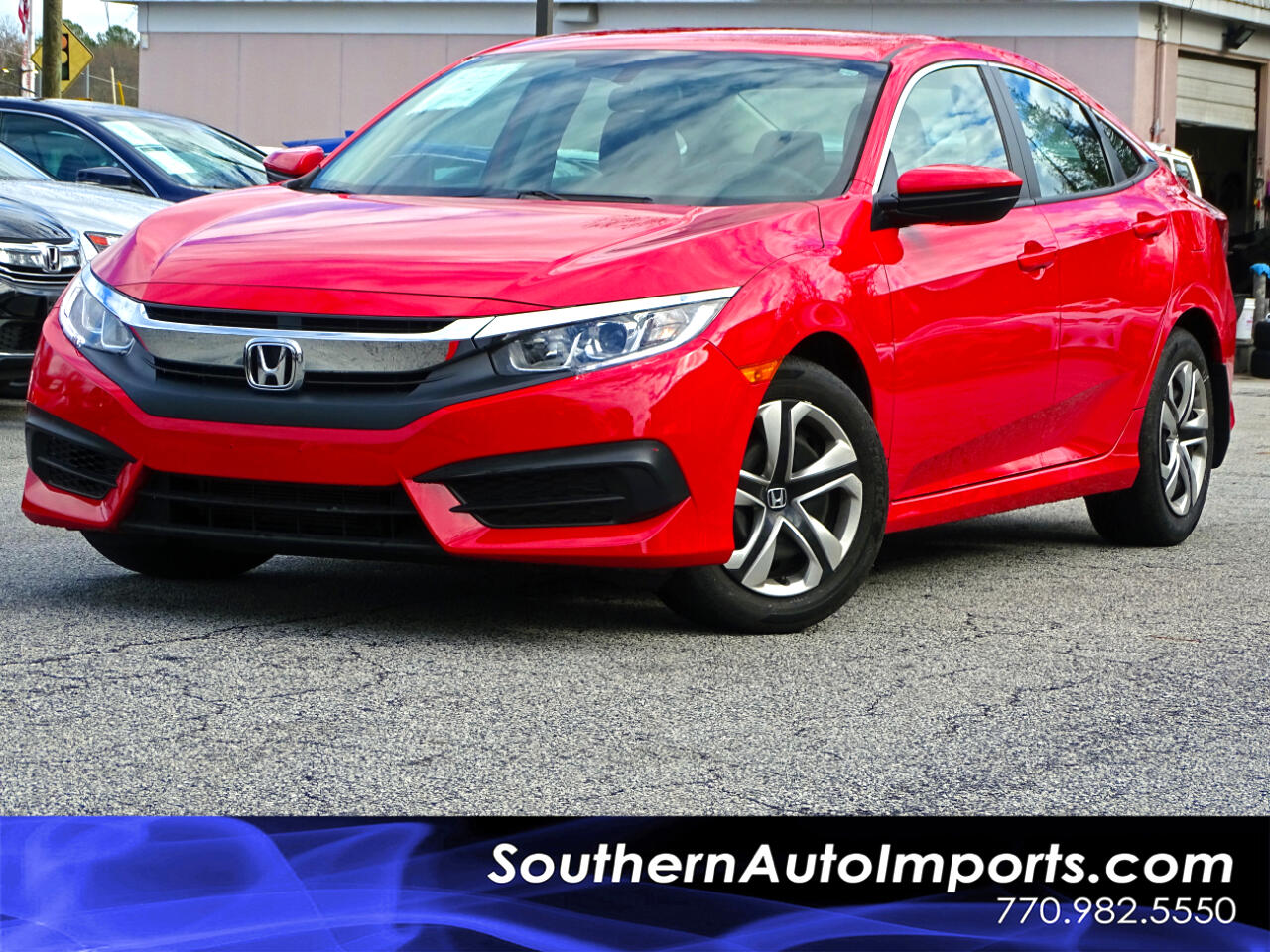 Honda Civic Sedan LX CVT 2018