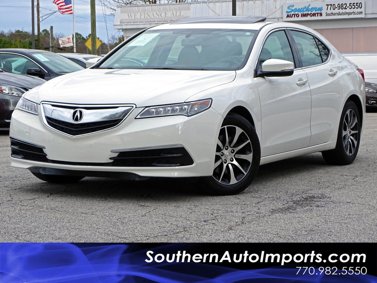 Acura TLX FWD 2017
