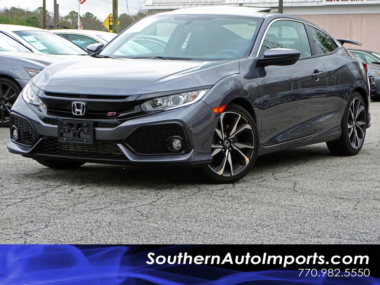 Honda Civic Si Coupe Manual 2018