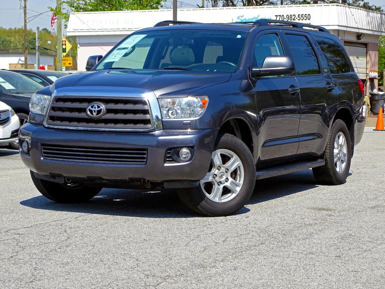 Toyota Sequoia RWD 5.7L SR5 (Natl) 2012