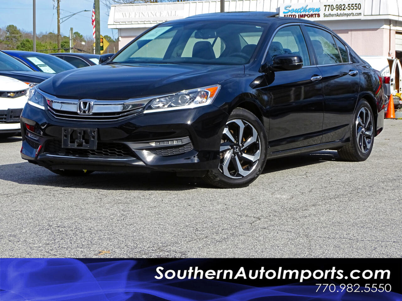 Honda Accord Sedan EX-L CVT 2017