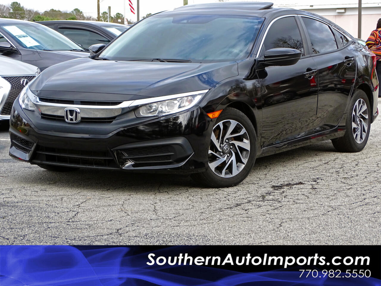 Honda Civic Sedan EX CVT 2017