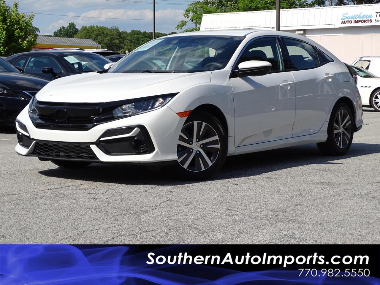 Honda Civic Hatchback LX CVT 2020