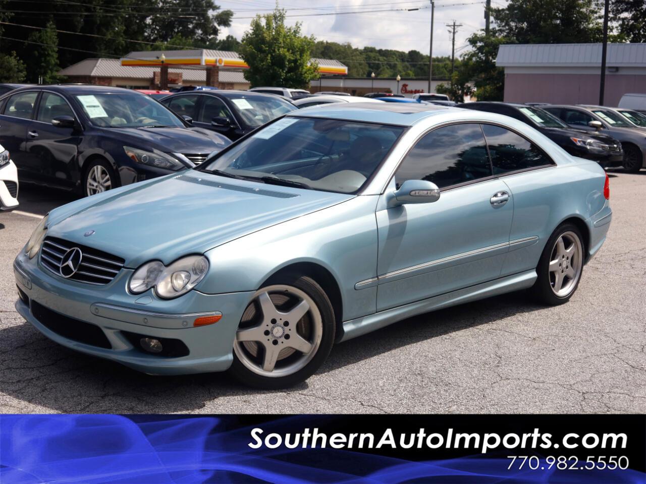 Mercedes-Benz CLK-Class 2dr Coupe 5.0L 2004