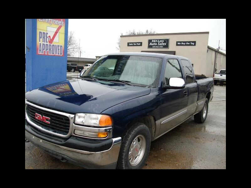 2002 GMC Sierra 1500 SL Ext. Cab Short Bed 2WD