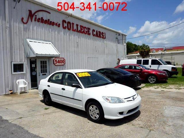 2005 Honda Civic VP Sedan AT