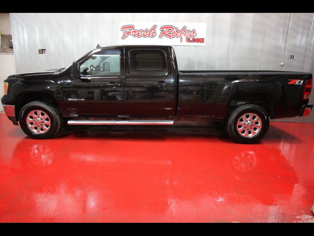 2012 GMC Sierra 3500HD SLT Crew Cab Long Box 4WD