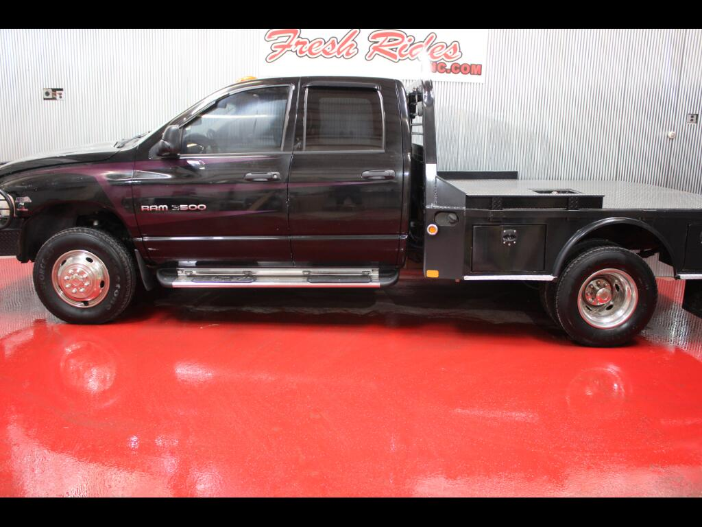 2005 Dodge Ram 3500 SLT Quad Cab Long Bed 4WD DRW