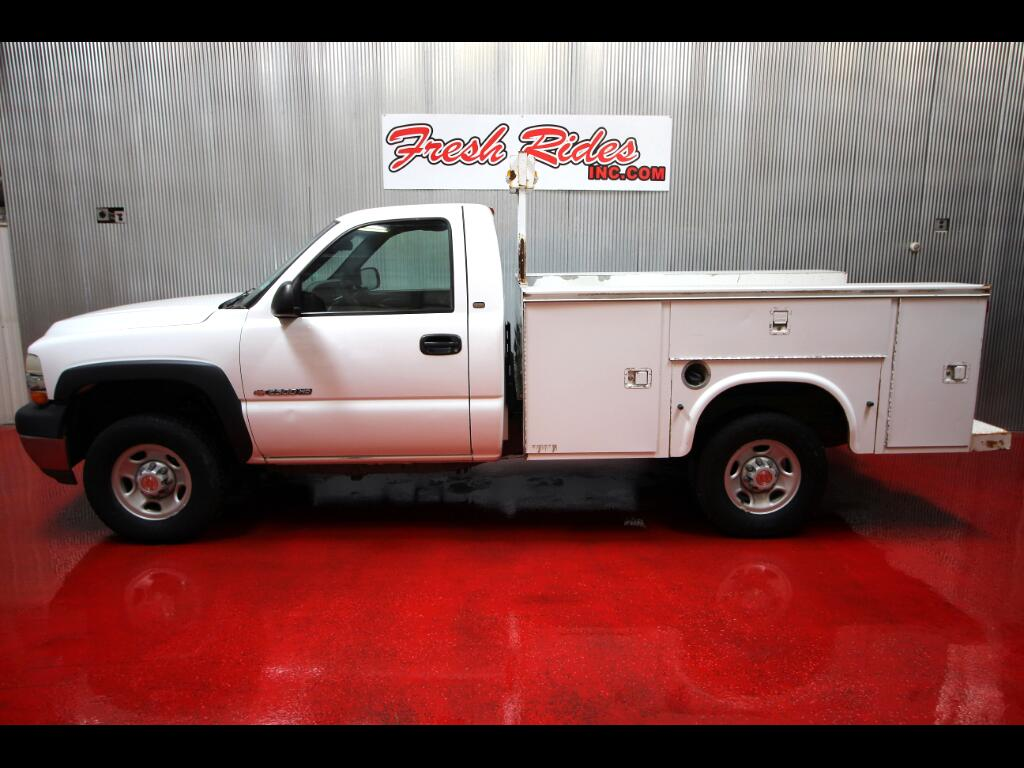 2002 Chevrolet Silverado 2500HD Work Truck Long Bed 4WD