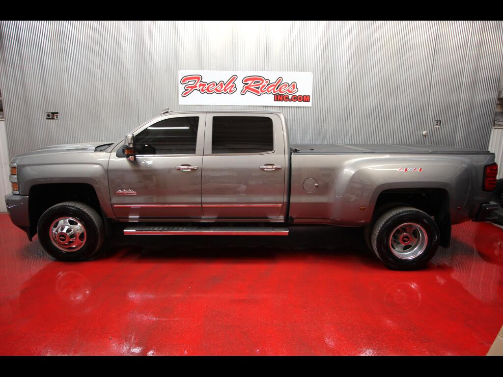 2017 Chevrolet Silverado 3500HD High Country Crew Cab Long Box DRW 4WD