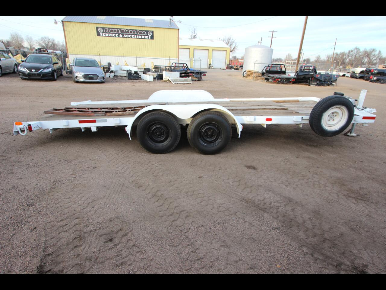 1992 5150 Trailers Stacker Trailer