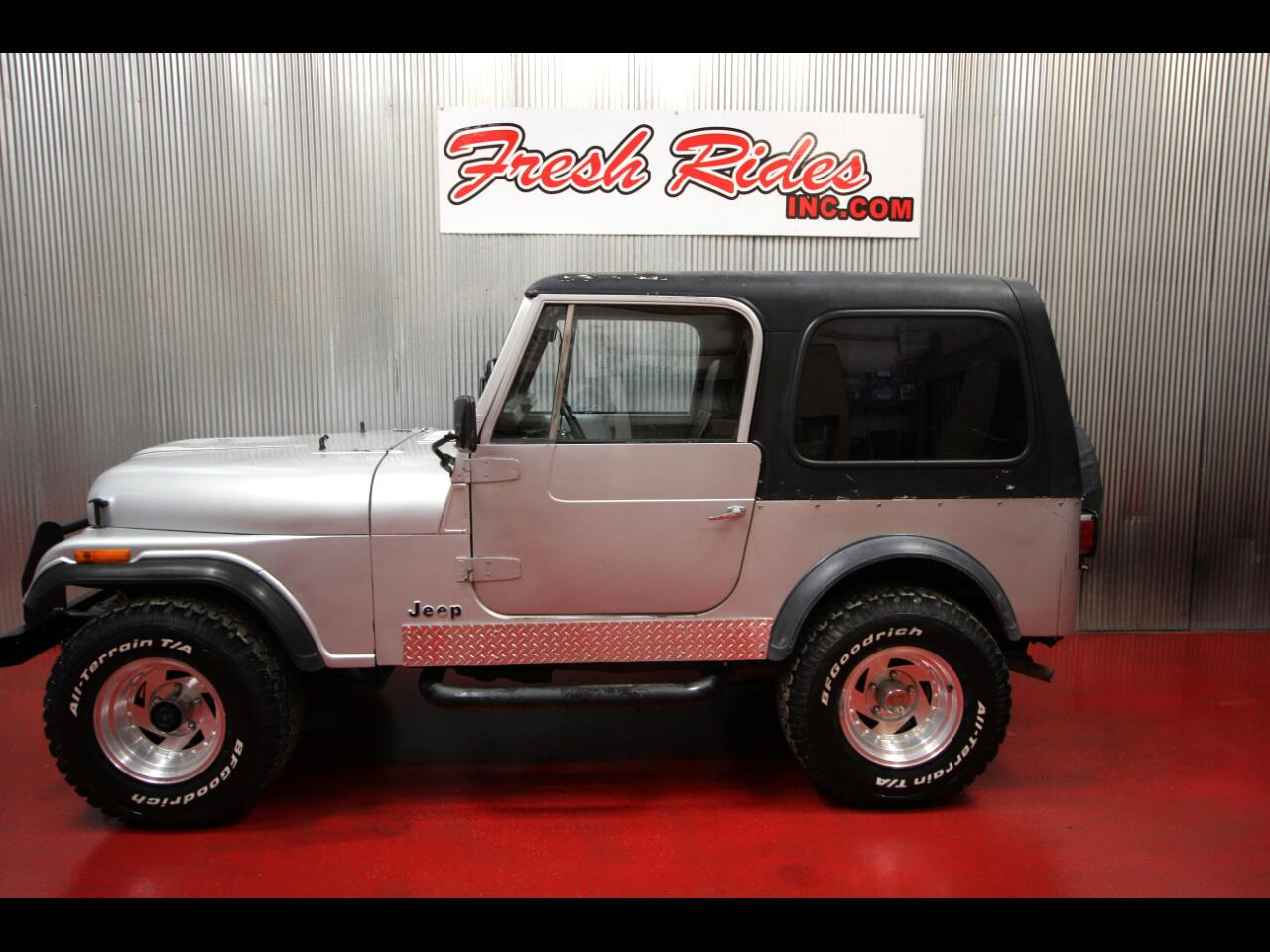 1985 Jeep CJ 4WD CJ7
