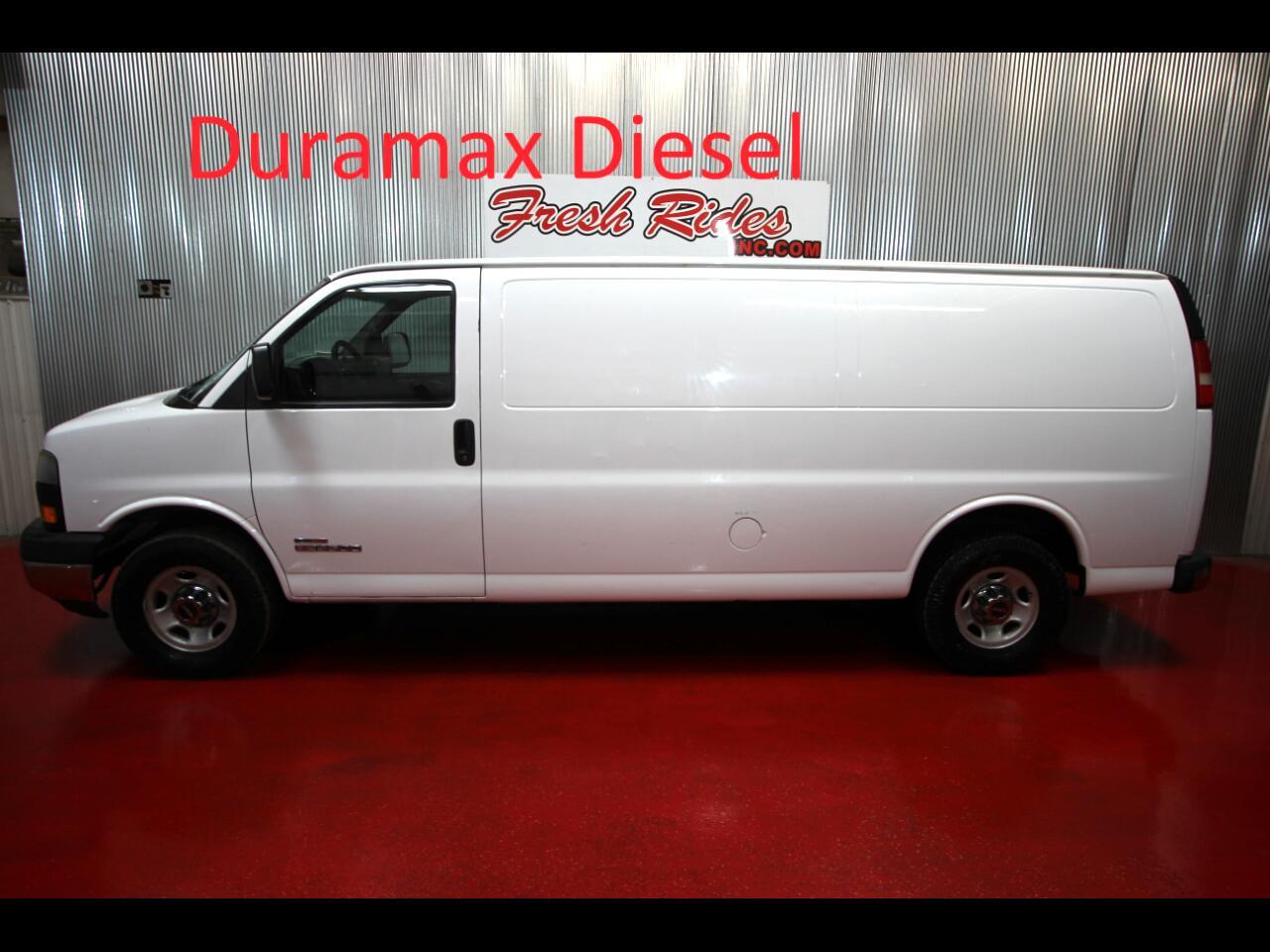 2006 GMC Savana Cargo Van RWD 3500 155