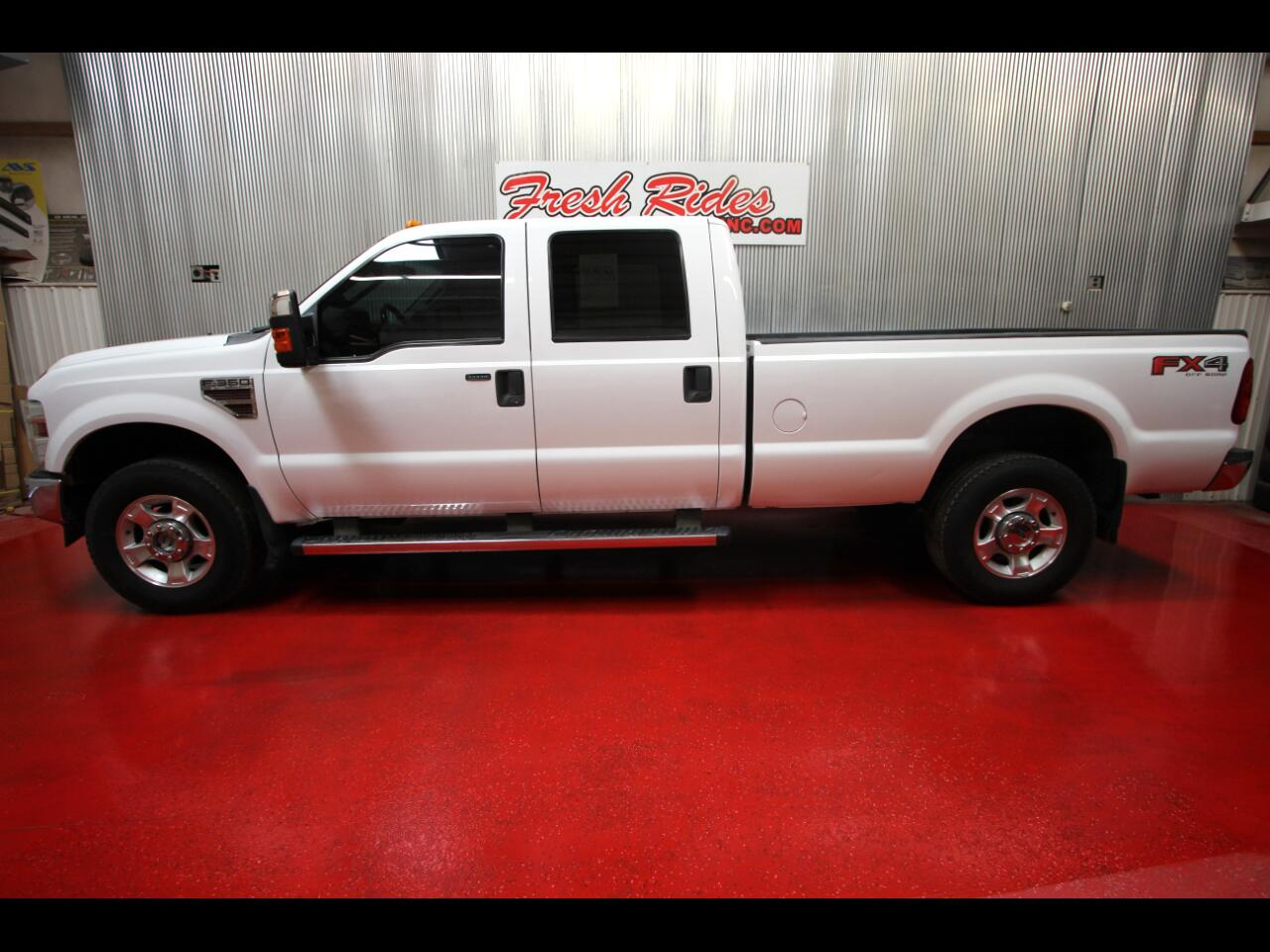 Ford F-350 SD Crew Cab 4WD 2010