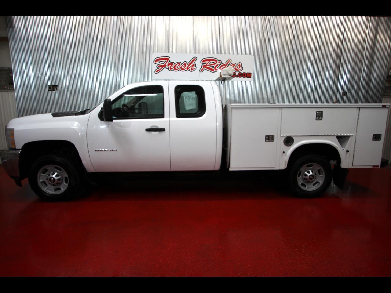"2011 Chevrolet Silverado 2500HD 4WD Ext Cab 158.2"" Work Truck"