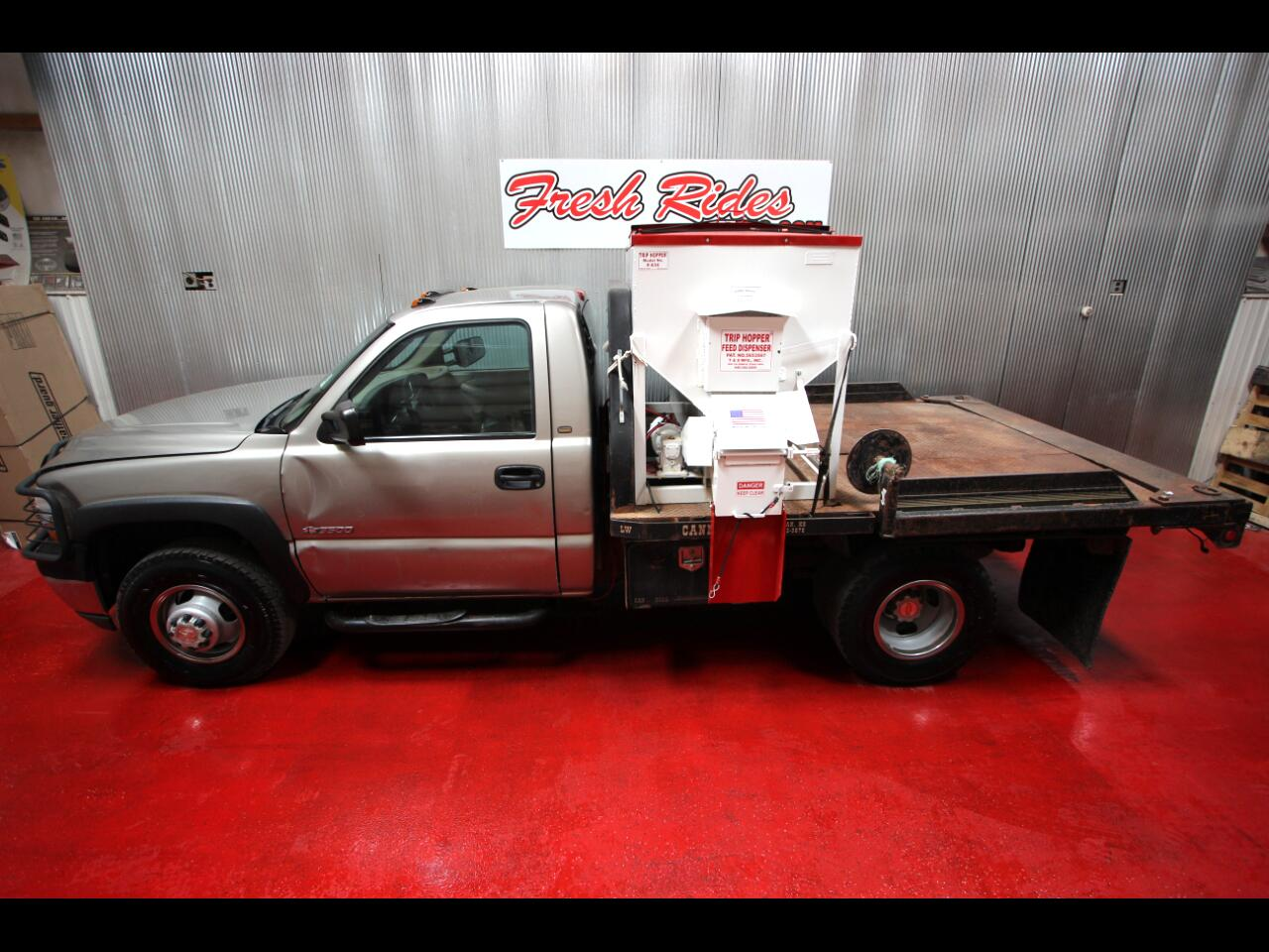 2001 Chevrolet Silverado 3500 Chassis and Cab
