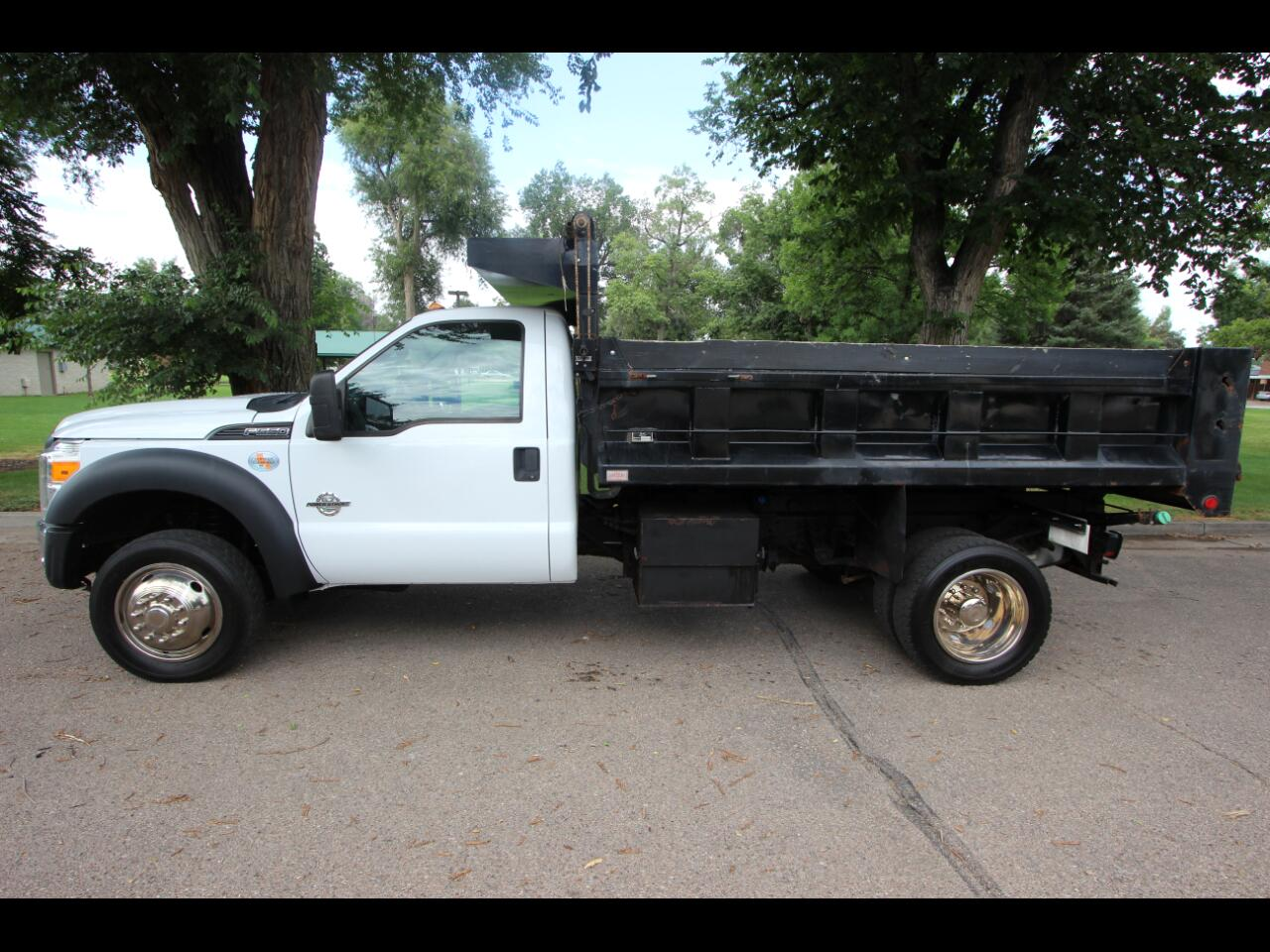 "2011 Ford Super Duty F-550 DRW 4WD Reg Cab 189"" WB 108"" CA XL"