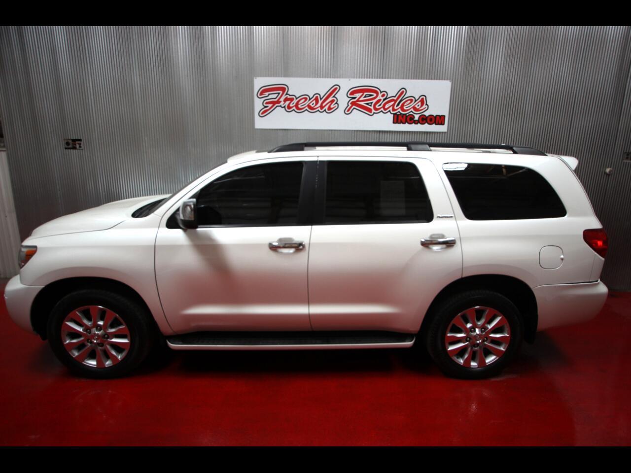 2014 Toyota Sequoia 4WD 5.7L Platinum (Natl)