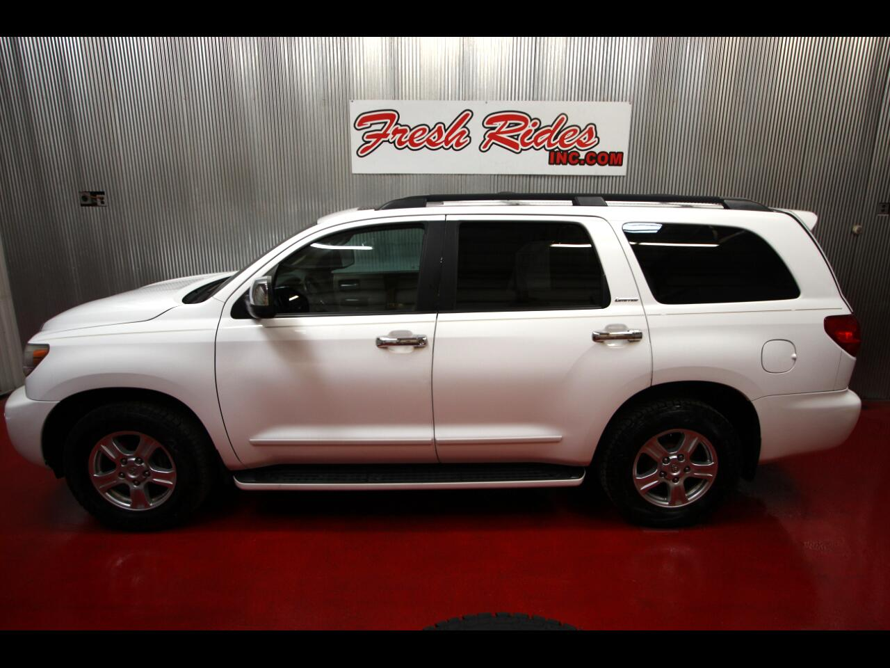 Toyota Sequoia 4WD 5.7L Platinum (Natl) 2008