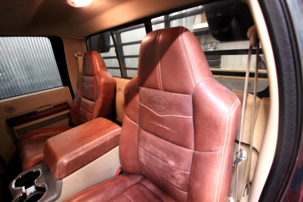 2008 Ford F-450 SD Crew Cab King Ranch