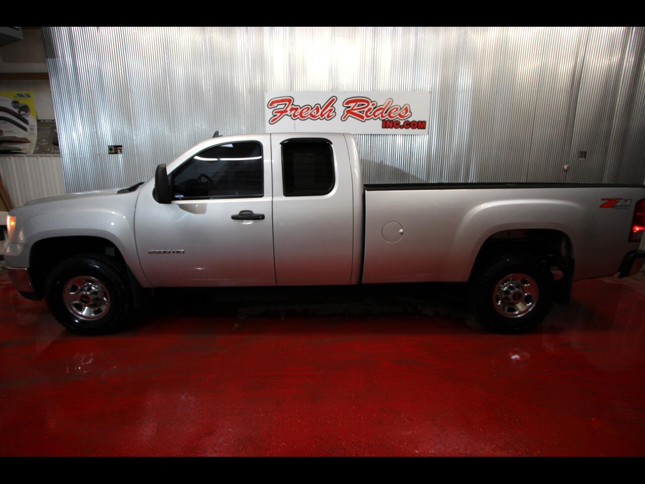 GMC Sierra 2500 SLE Ext. Cab Long Bed 4WD 2010