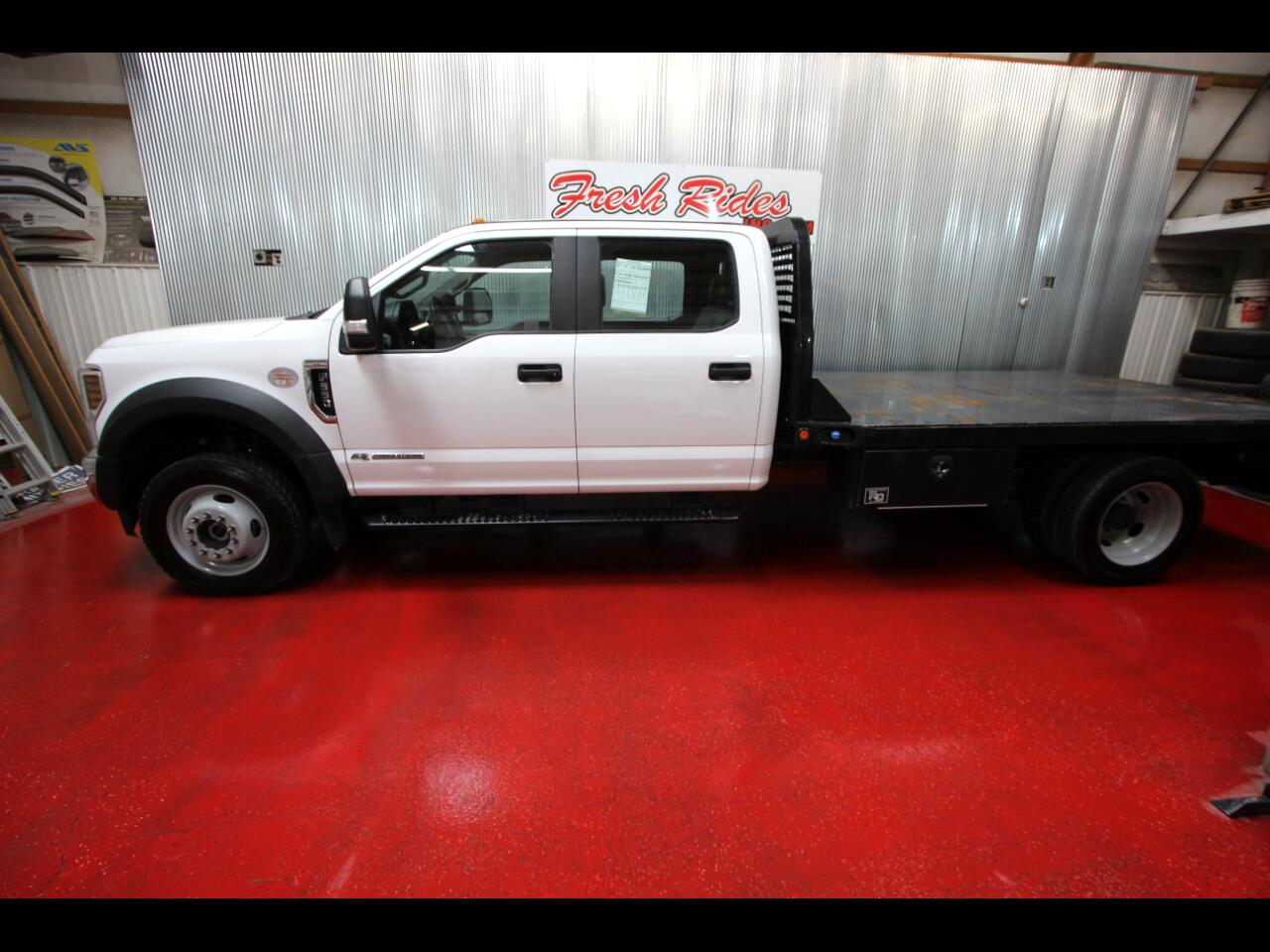 "Ford Super Duty F-550 DRW XL 4WD Crew Cab 179"" WB 60"" CA 2019"