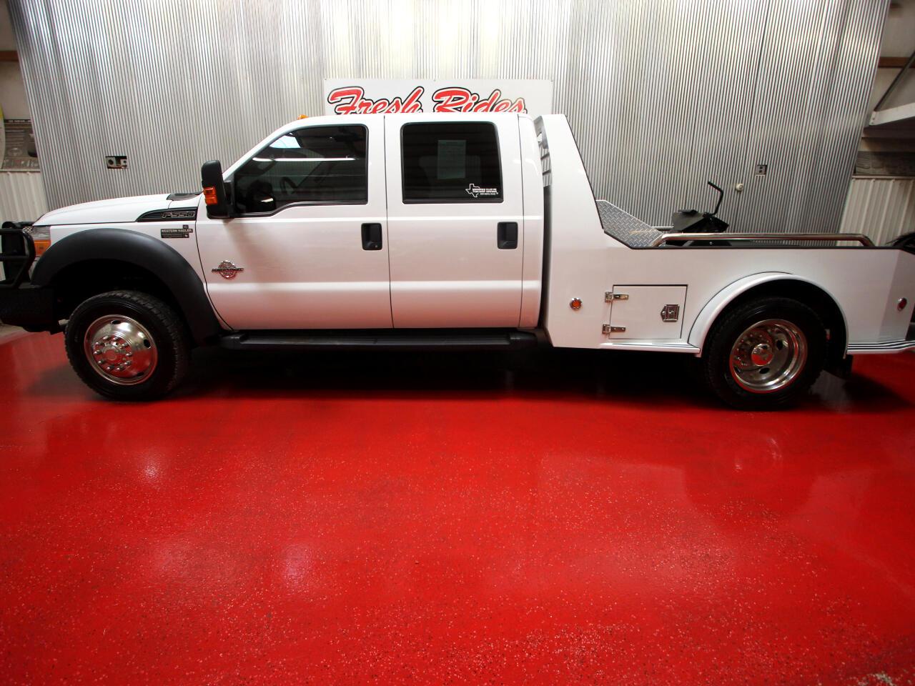 "Ford Super Duty F-550 DRW 4WD Crew Cab 200"" WB 84"" CA Lariat 2012"