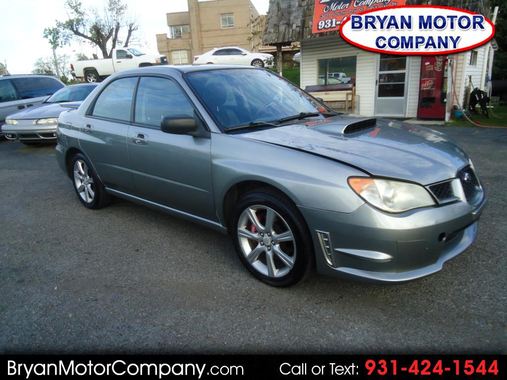 2007 Subaru Impreza Sedan 4dr H4 Turbo MT WRX TR