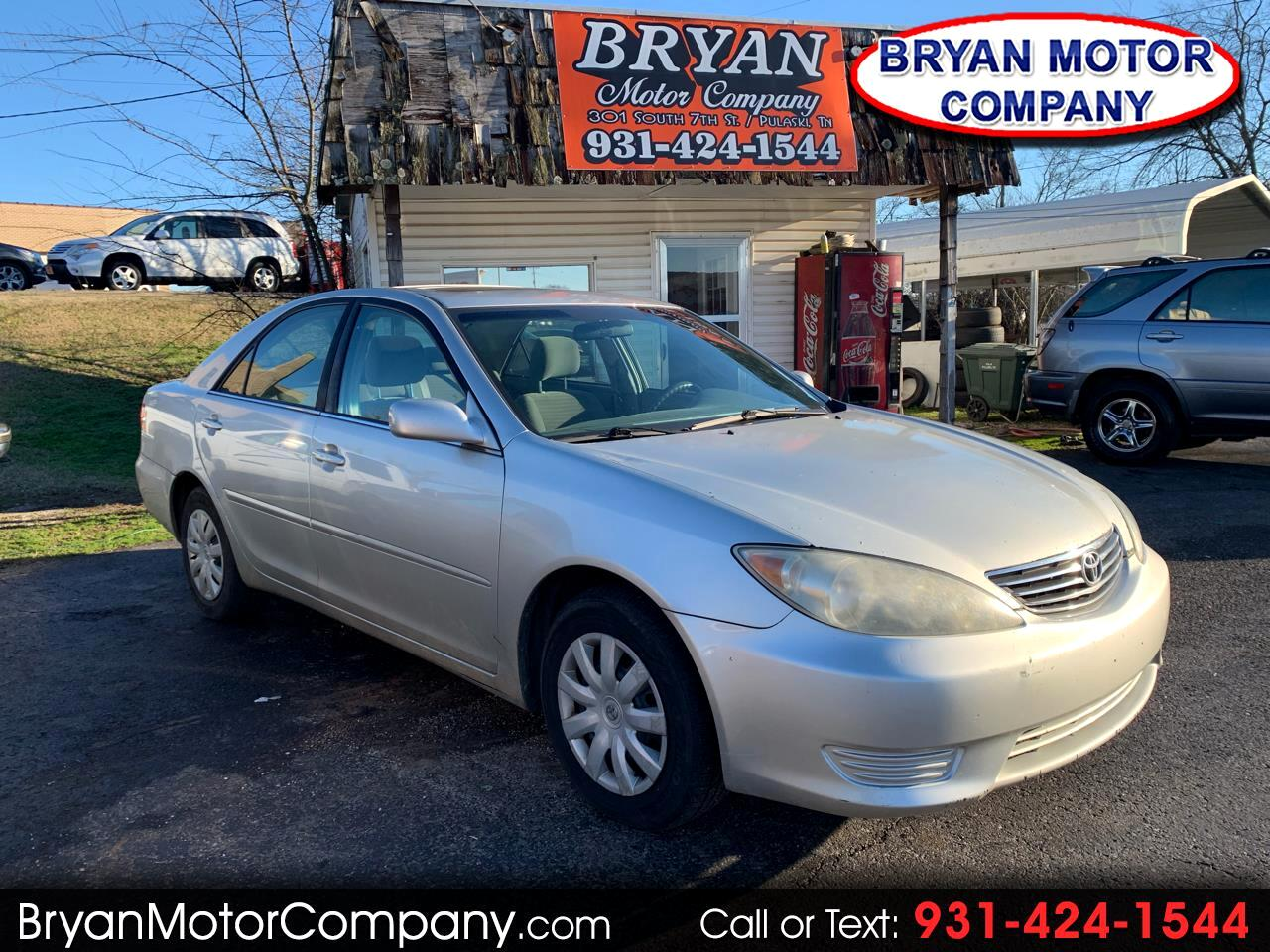 2006 Toyota Camry 4dr Sdn LE Auto (Natl)