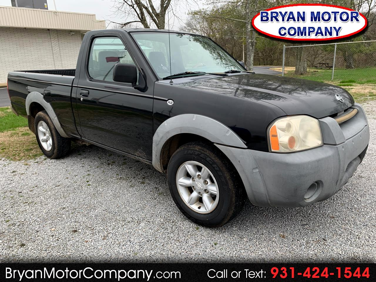2001 Nissan Frontier 2WD XE Reg Cab I4 Manual