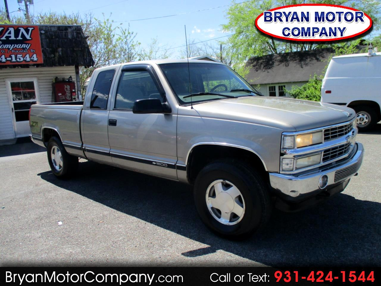 "1998 Chevrolet C/K 1500 Ext Cab 141.5"" WB 4WD"