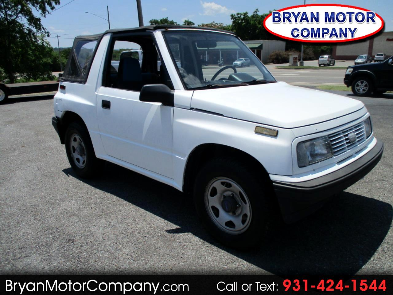 1992 Geo Tracker 2dr Convertible 2WD