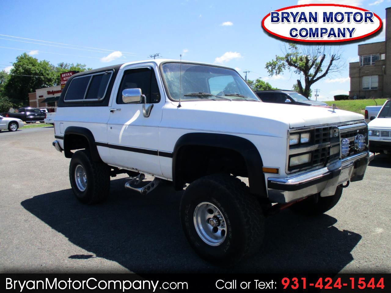 1989 Chevrolet Blazer 4WD