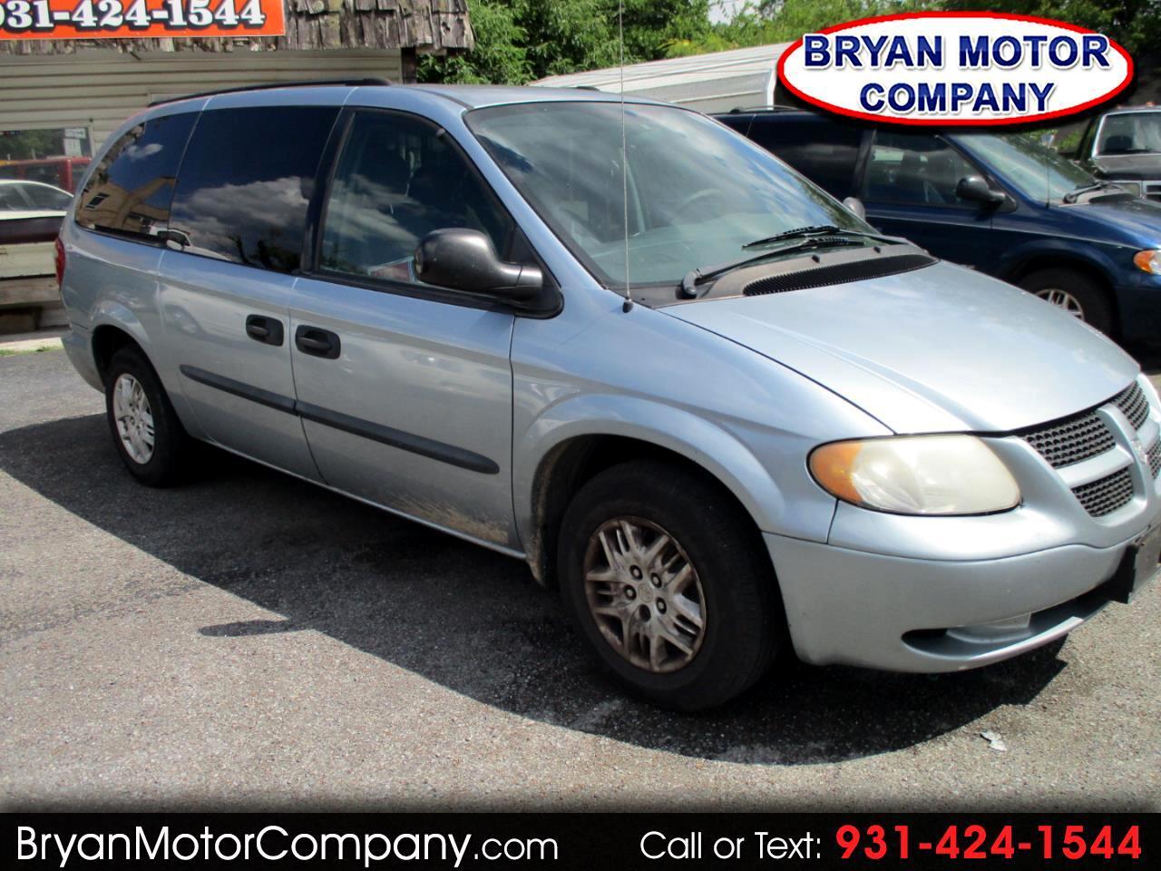 "2004 Dodge Caravan 4dr Grand SE 119"" WB"